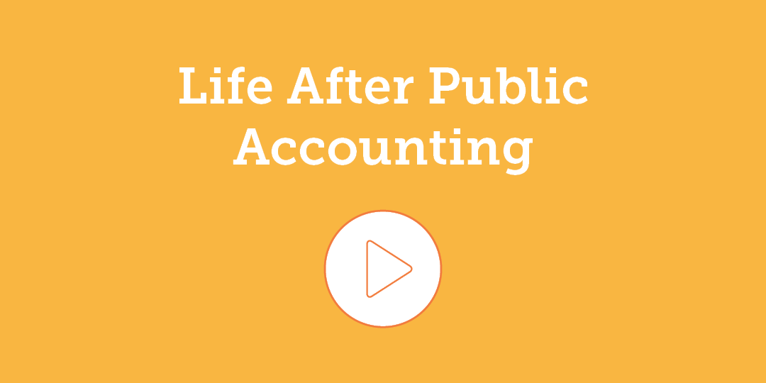 Life After Public Accounting videos